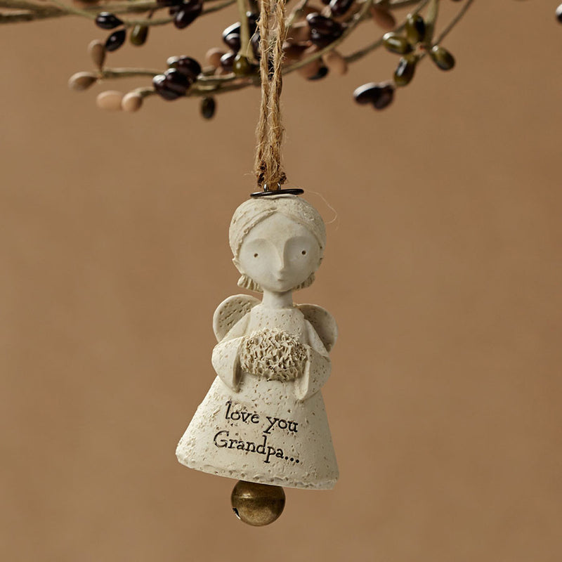 Love Grandpa Angel Ornament