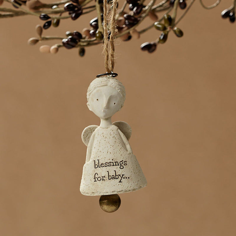 Baby Blessings Angel Ornament