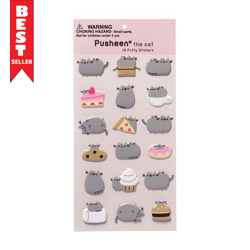 Pusheen Food Stickers