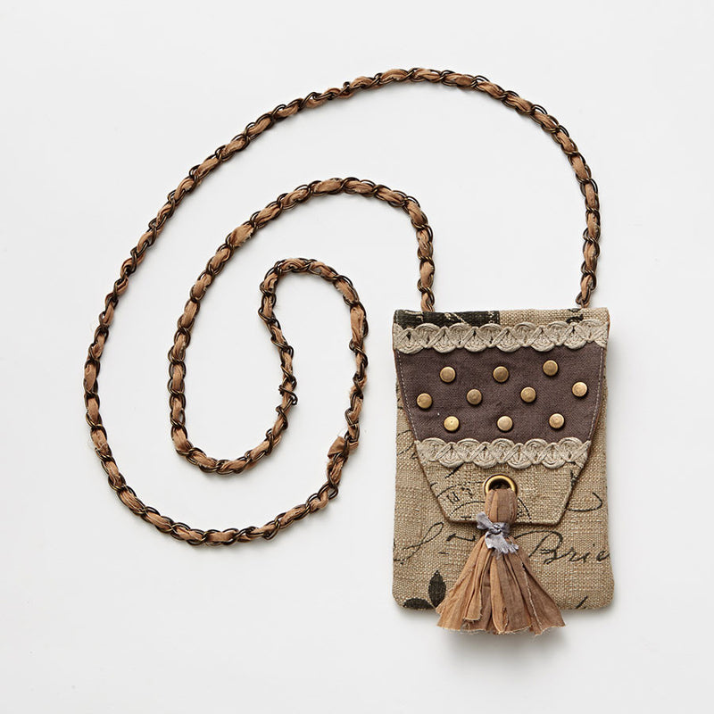 Copper Studded Cross Body