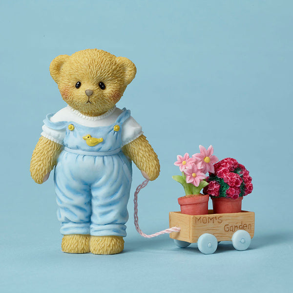 Bear w/Flower Pots for Mom