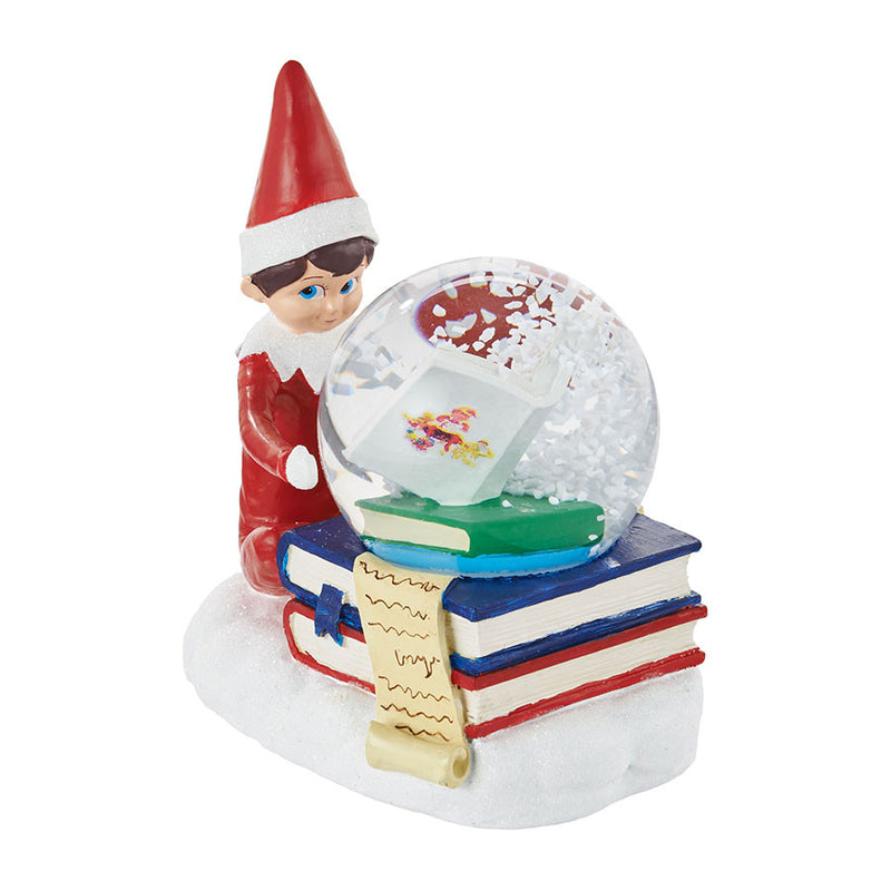 Elf Reading Waterglobe