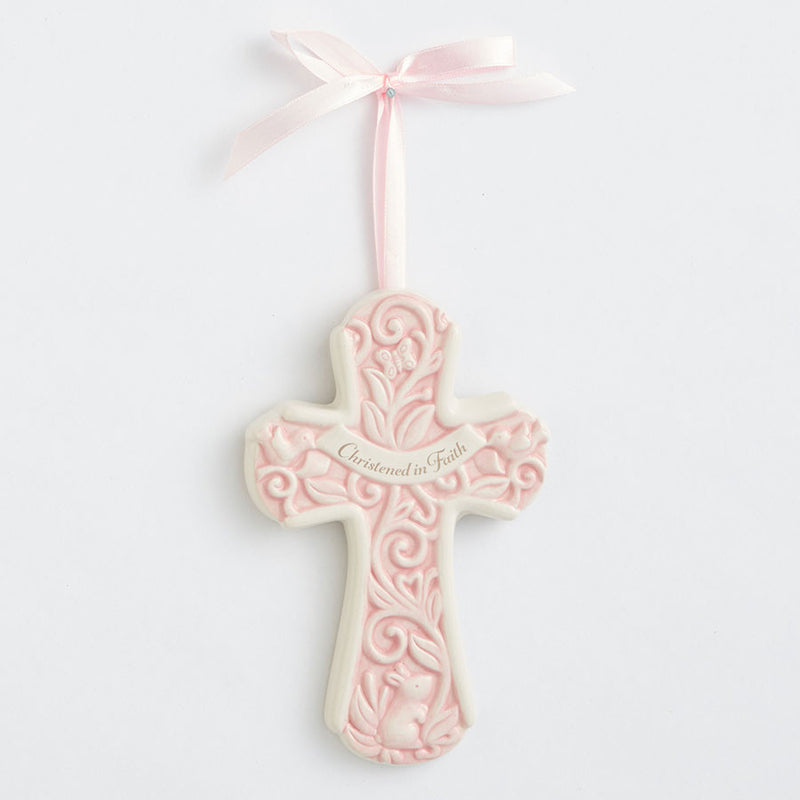 Christening Pink Cross