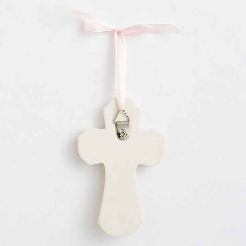 Baptism Pink Cross