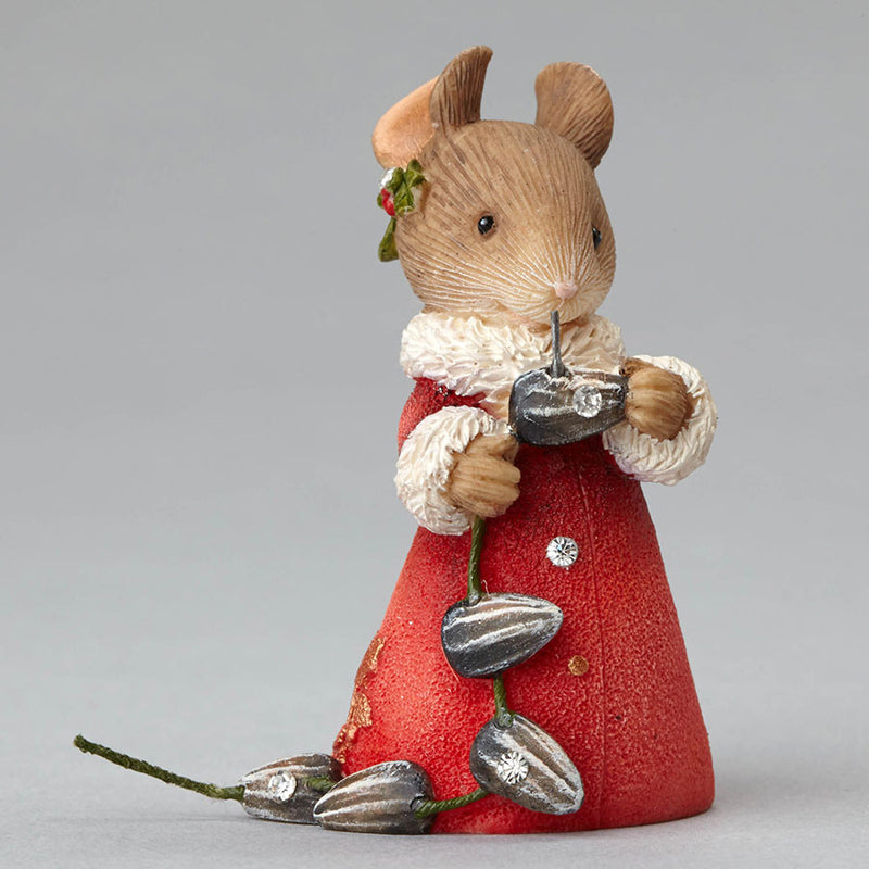Mouse with Seeds Garland
