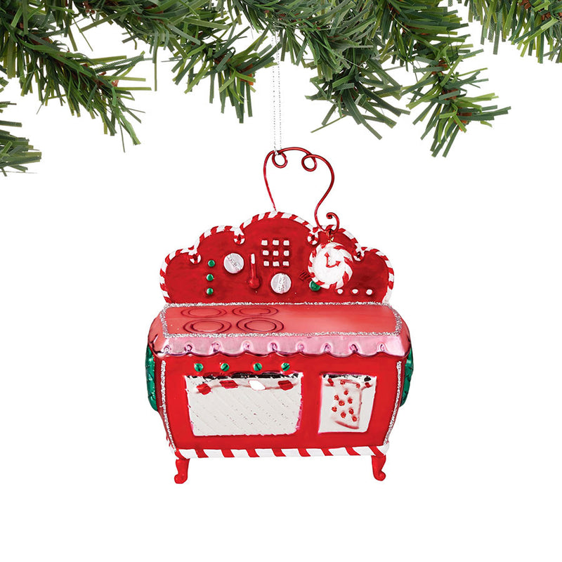 Mrs Claus Oven Ornament