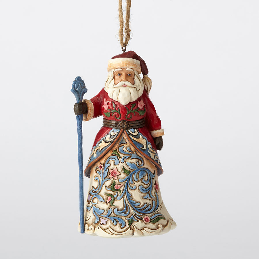 Norwegian Santa Ornament