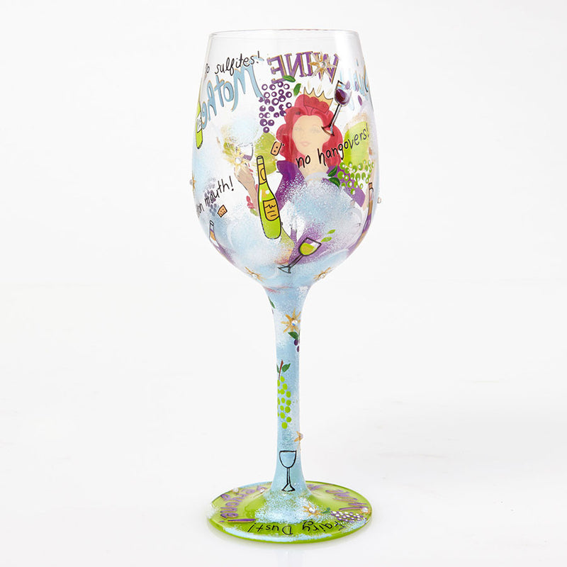 Wine Glass Fairy Wine Mother