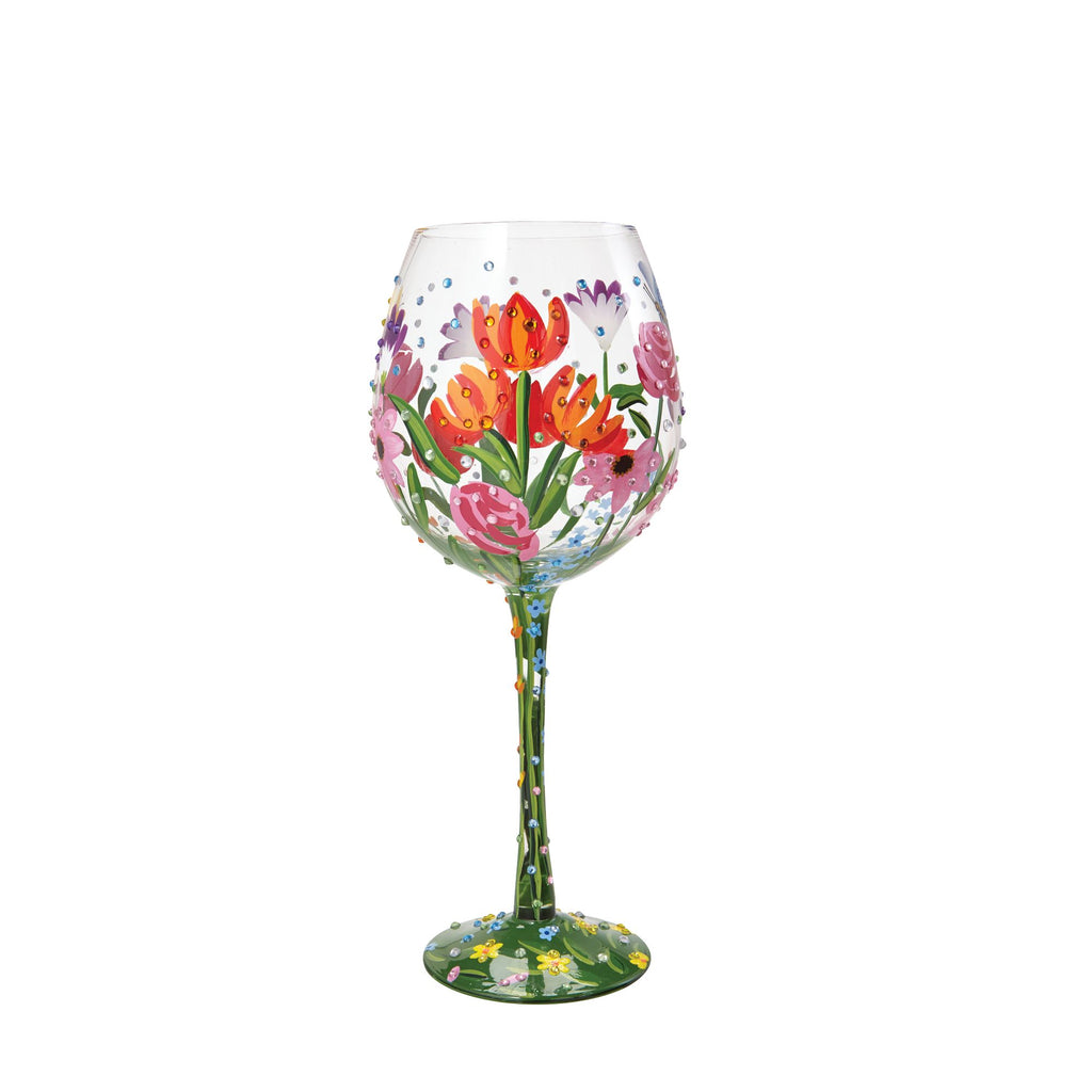 Wine Glass Spring Bling