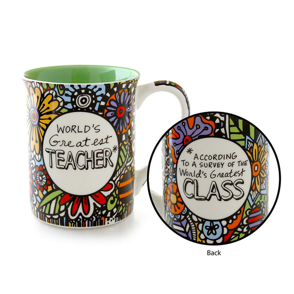 Greatest Teacher Cuppa Mug