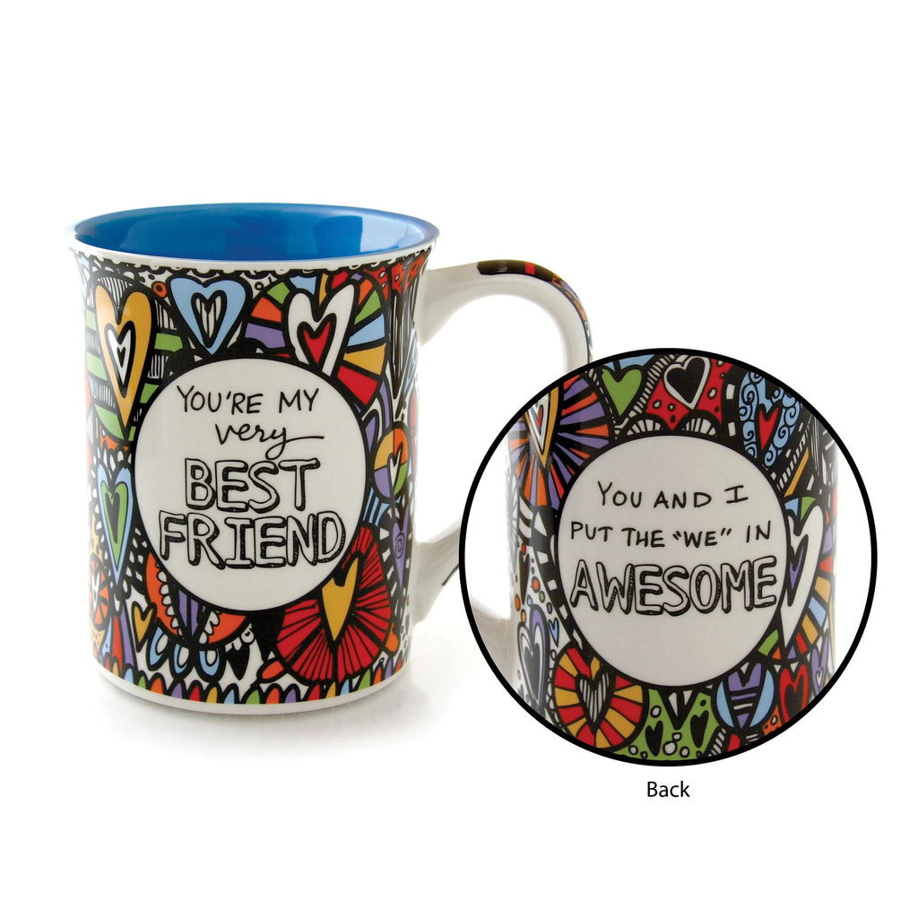 Best Friend Cuppa Doodles Mug