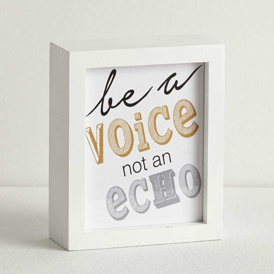 Be a Voice Wall Decor