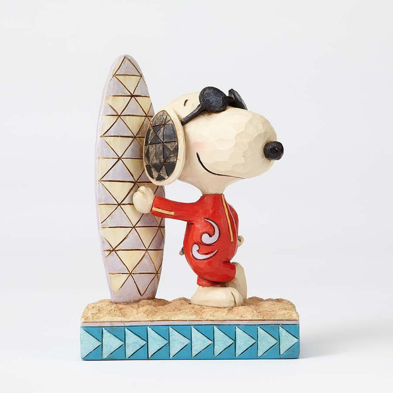 Joe Cool Snoopy with Surfboard