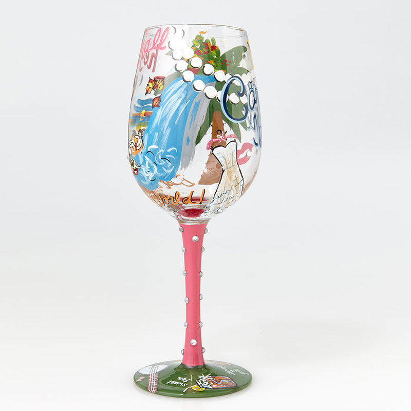 Wine Glass Carolina Girl