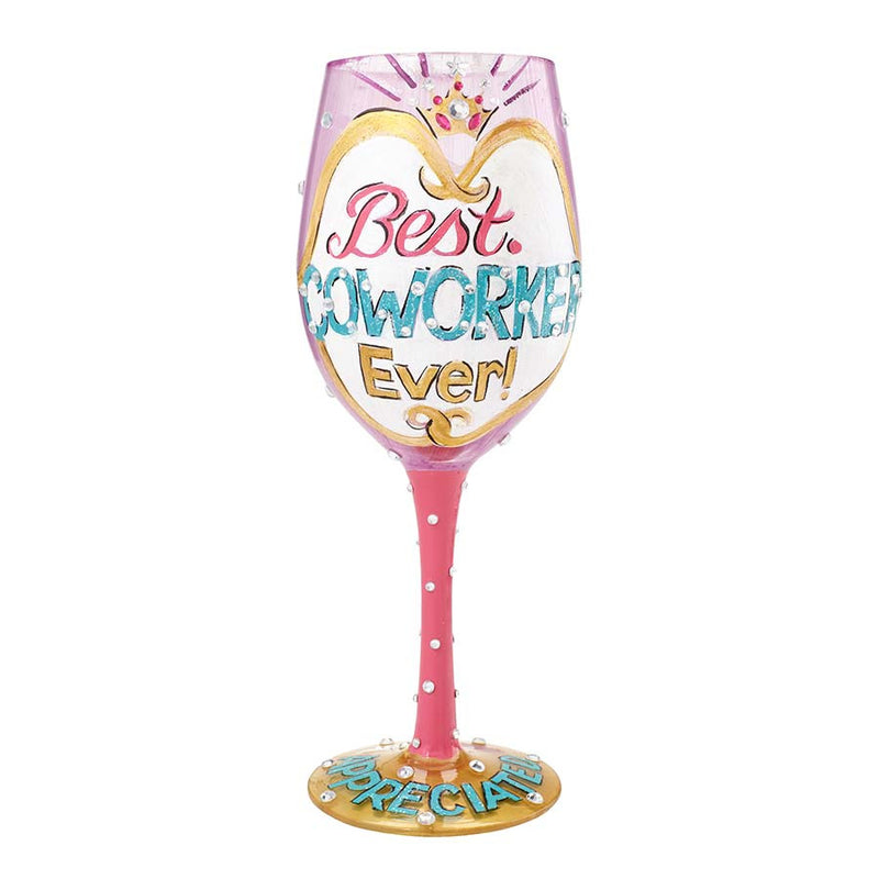 Wine Glass Best Co-Worker Ever