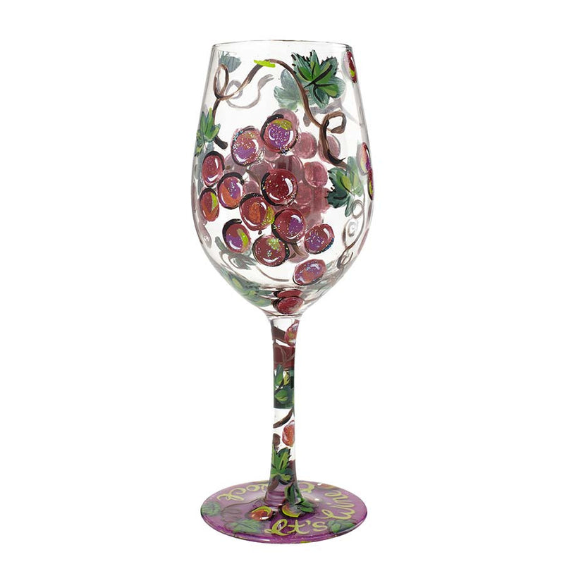 Wine Glass It's Wine O'Clock