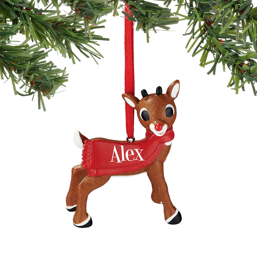 Rudolph Alex Ornament