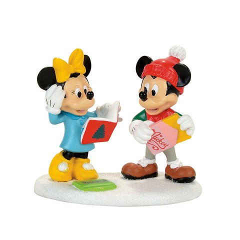 Mickey & Minnie Card Exchange