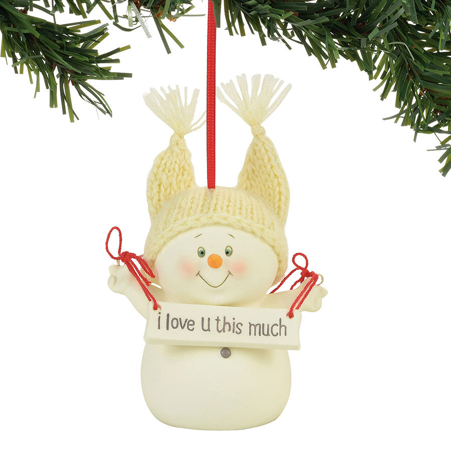 I Love You This Much Ornament