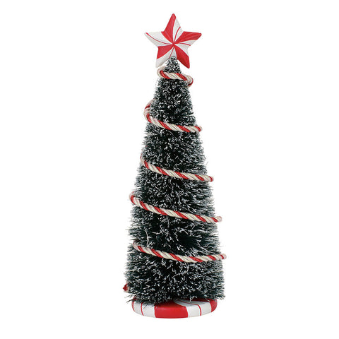 Peppermint Tinsel Tree