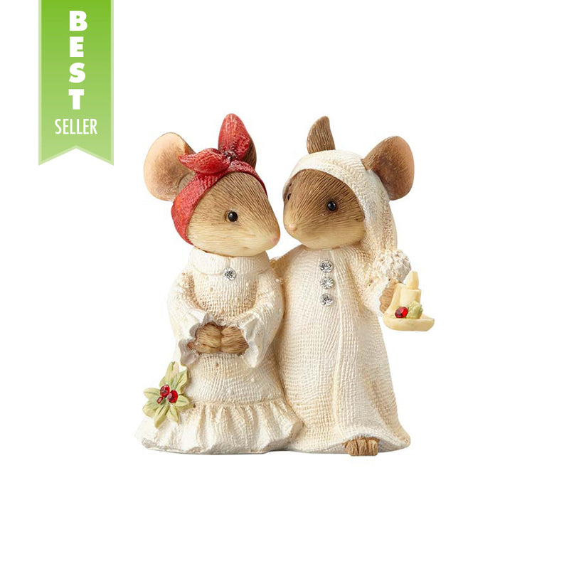 Mice Couple With Candle
