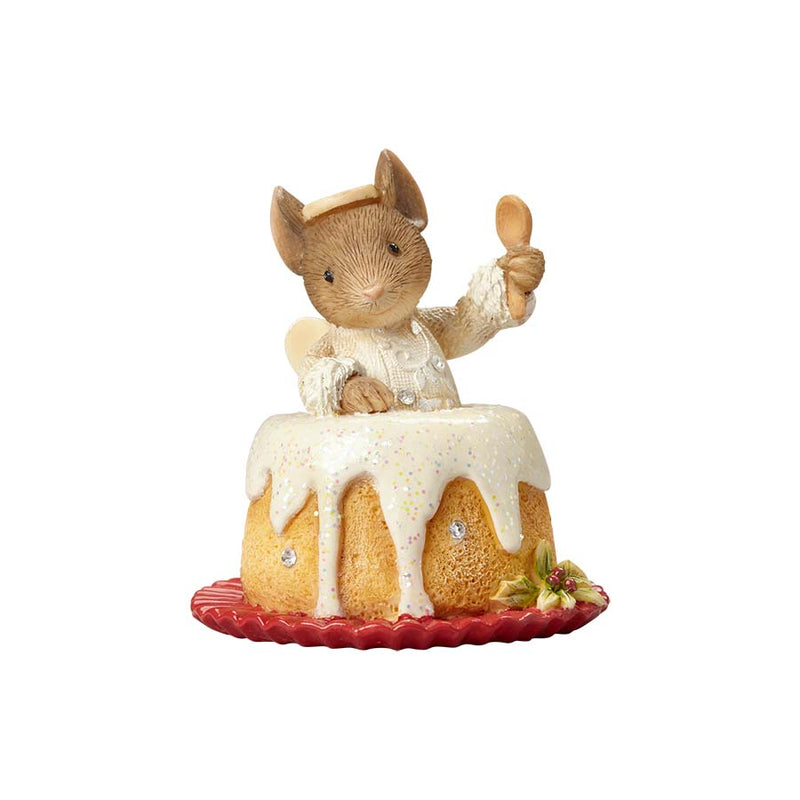 Mouse Angel Food Ornament