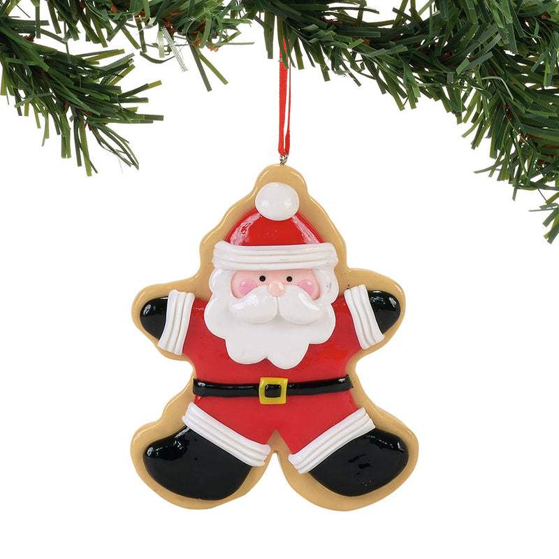 Cookie Cutter Santa Ornament