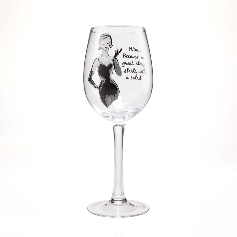 Wine Glass No Great Story