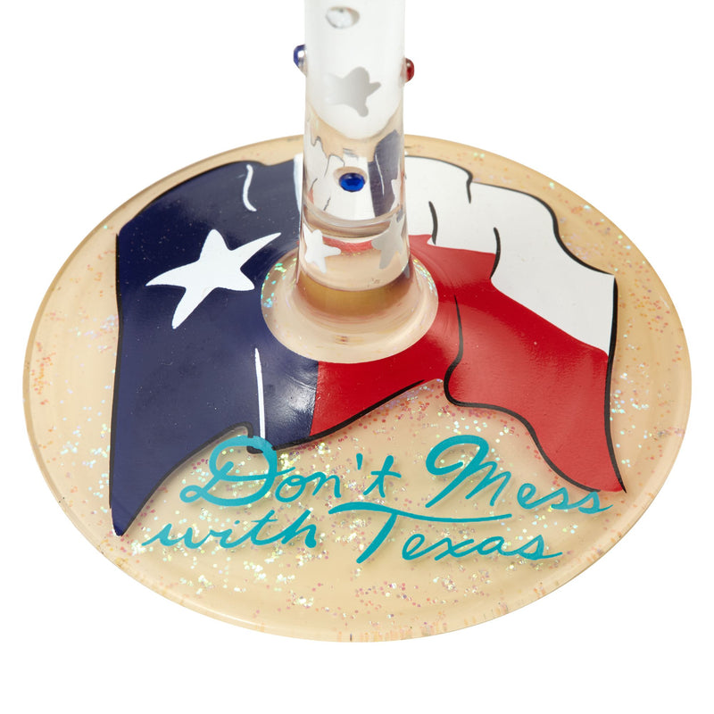 Wine Glass The Lone Star State