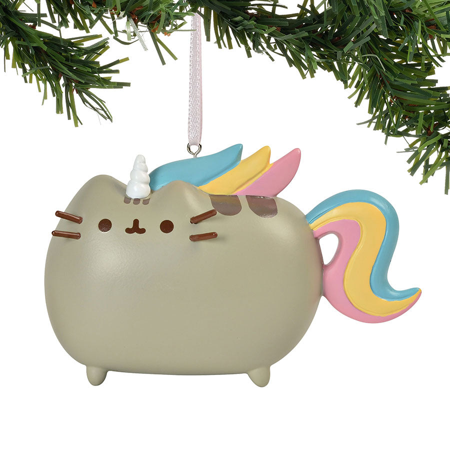 Pusheen Magical Unicorn Orname