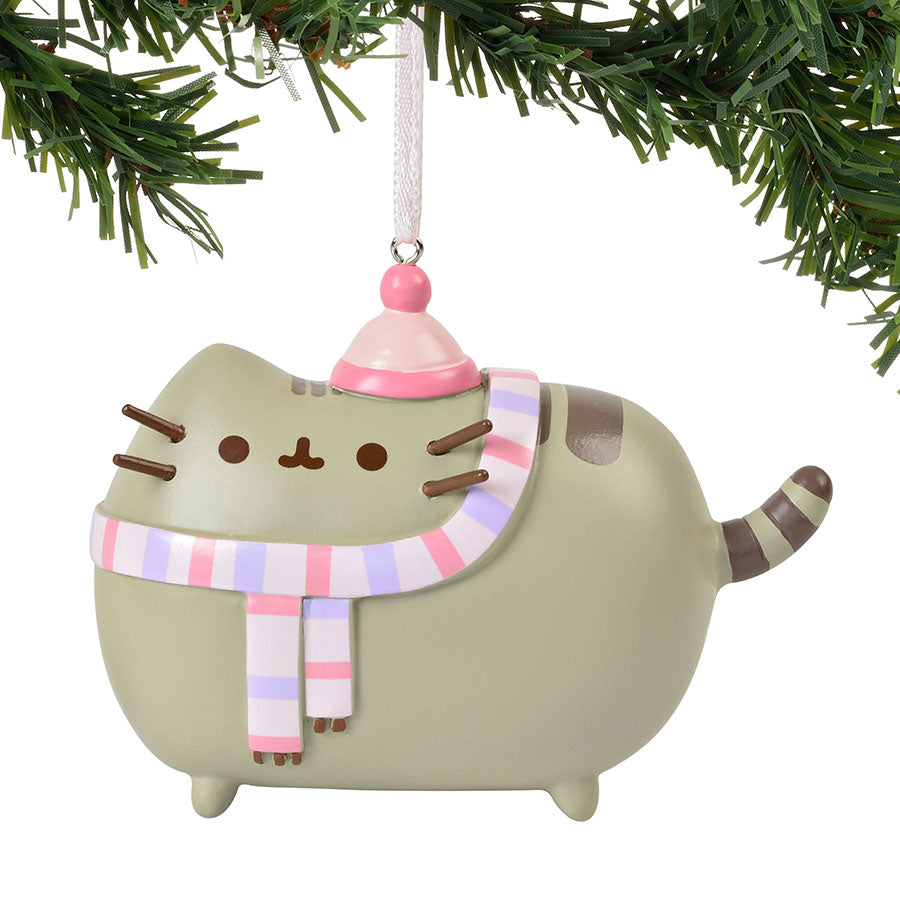 Pusheen Winter Ornament