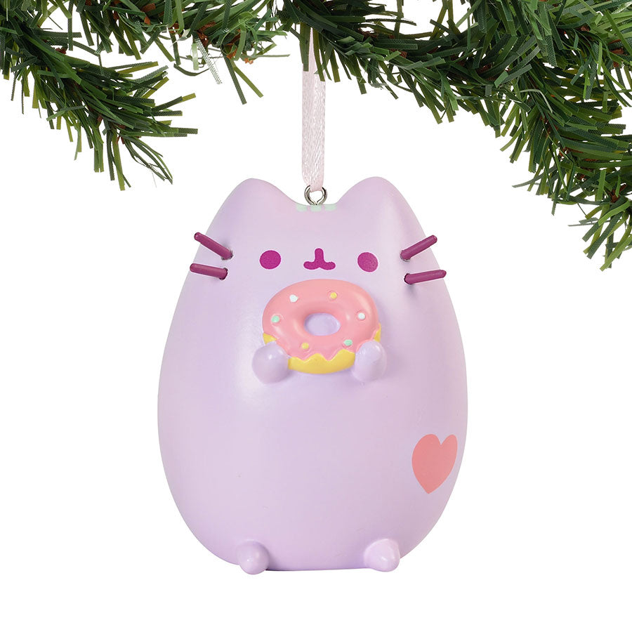 Pusheen Pastel Purple Ornament