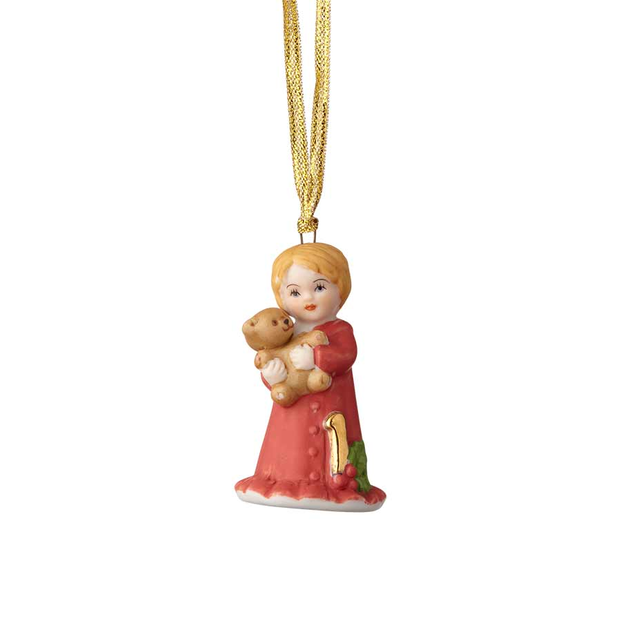 Blonde Age 1 Ornament