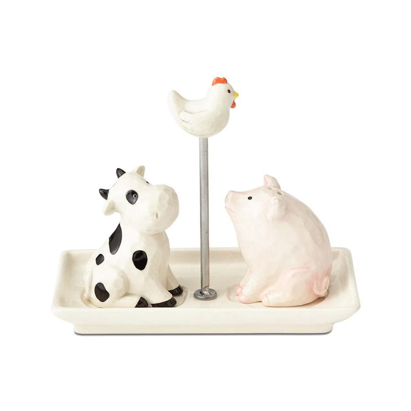 Cow & Pig w Chicken SP Shakers