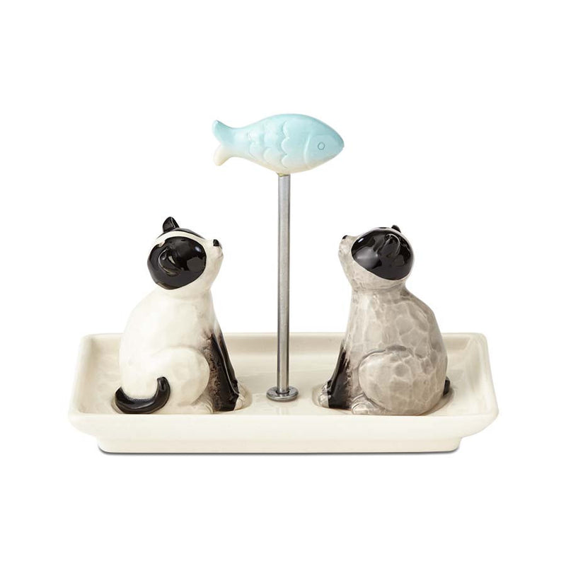 Cats with Fish SP Shakers