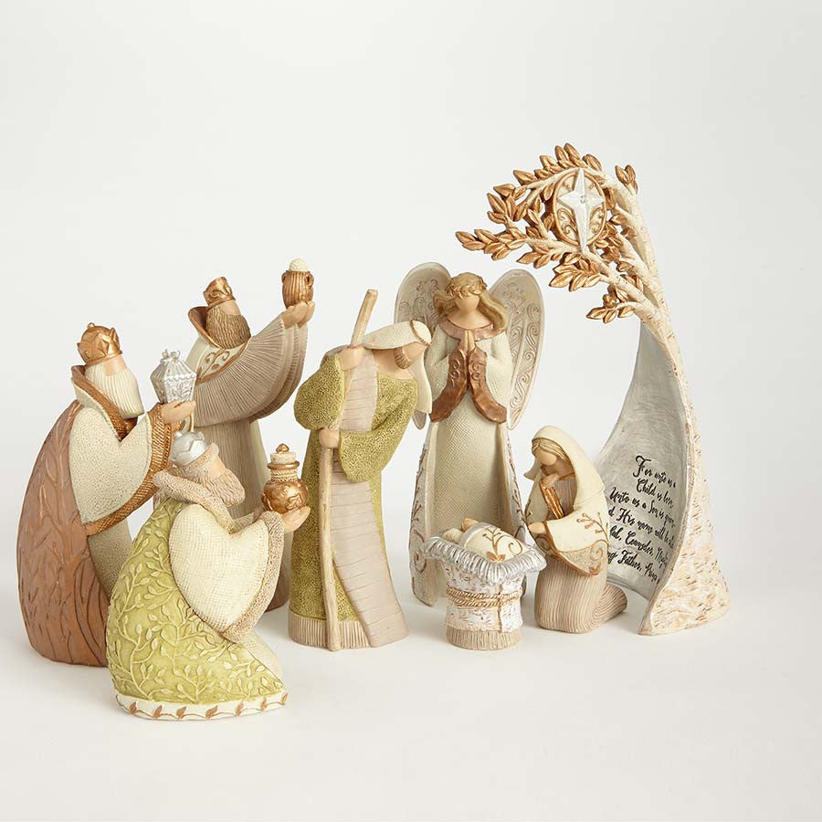 Nativity Figurine Set/8