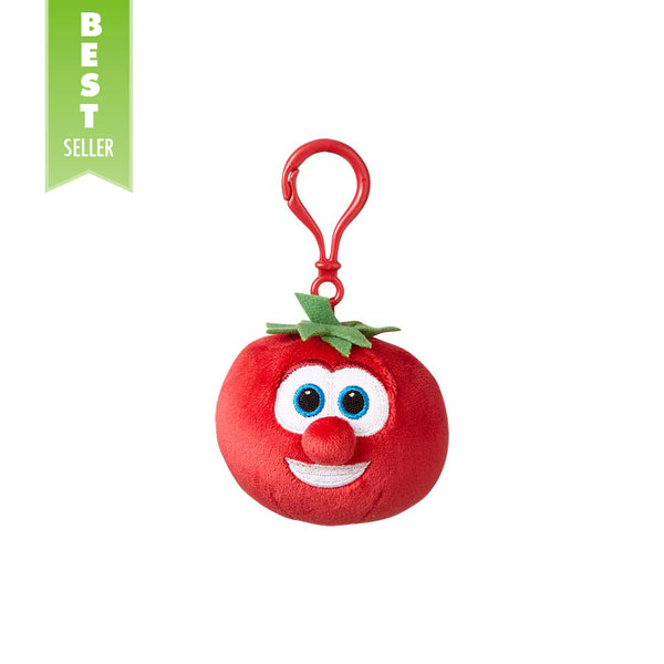 Bob the Tomato Backpack Clip
