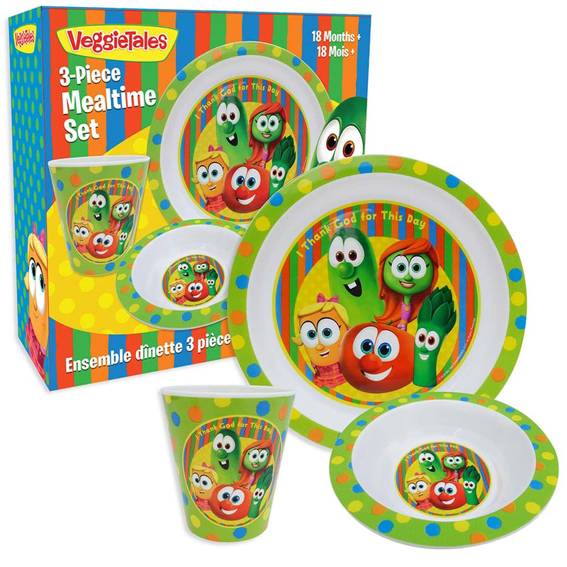 VeggieTales 3-pc Meal Set