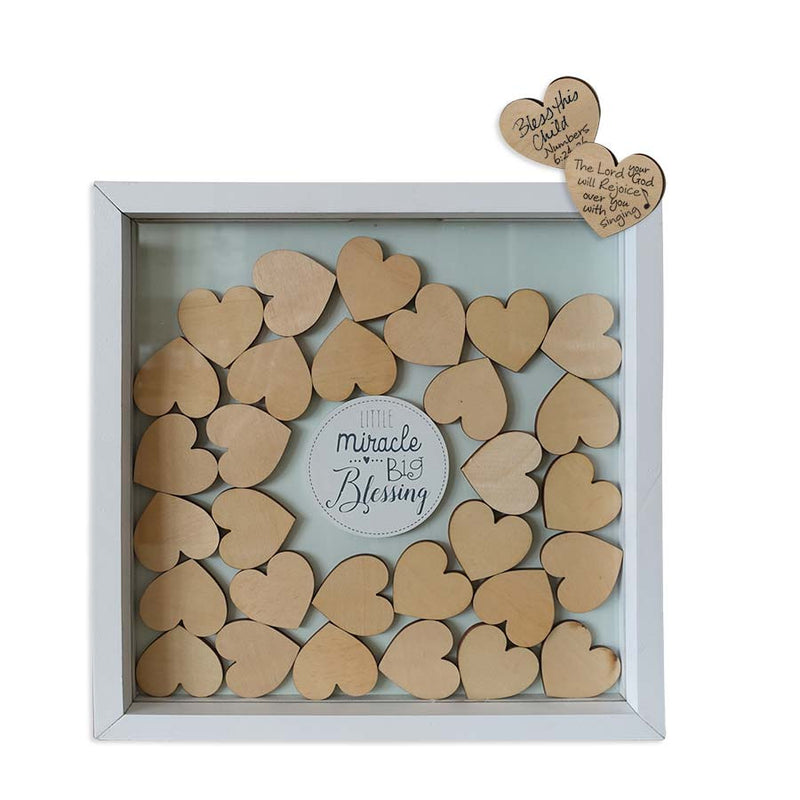 Baby Blessings Shadow Box
