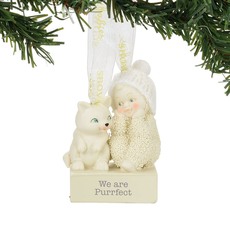 We Are Purrfect Ornament