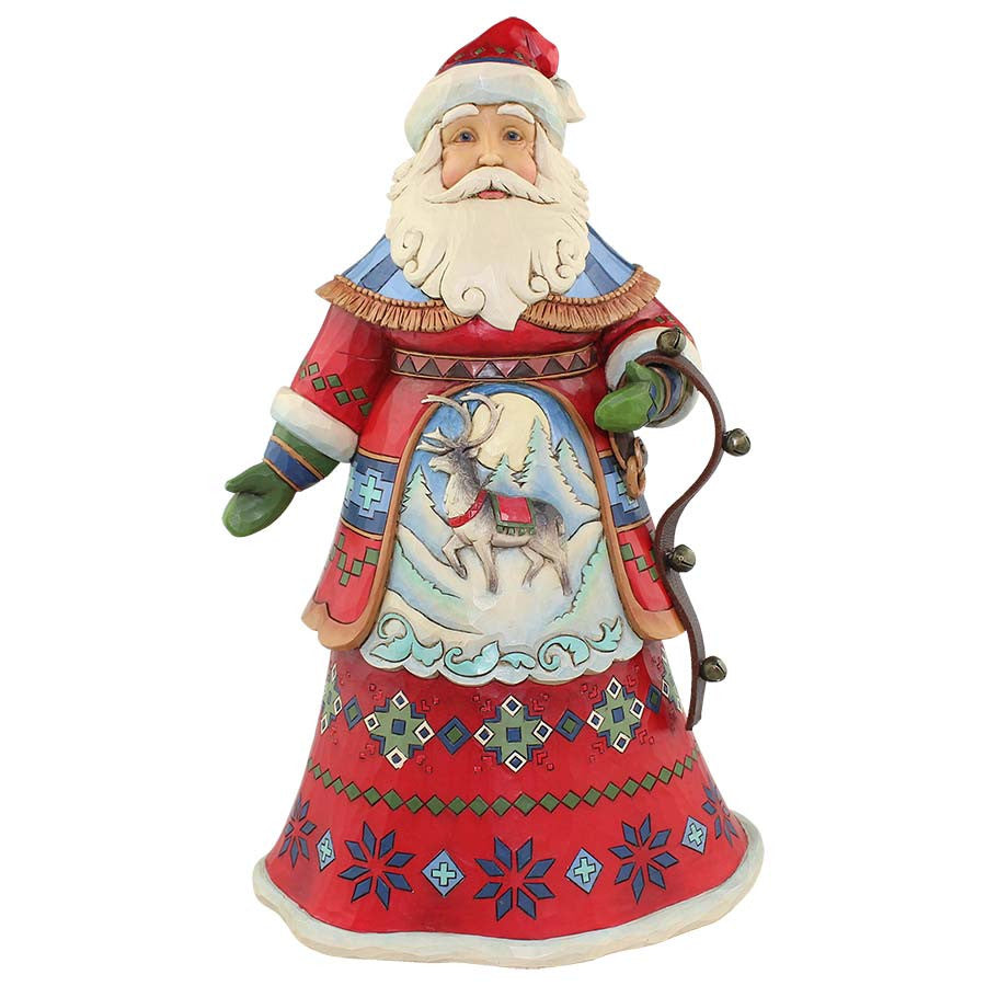Lapland Santa with Bells