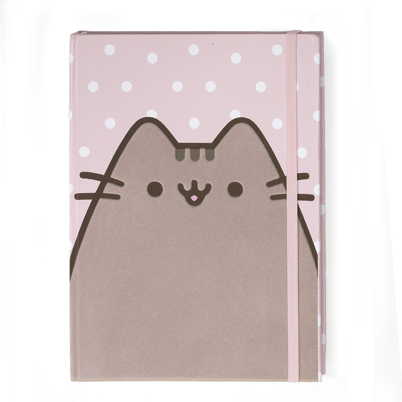 Polka Dot Pusheen Journal