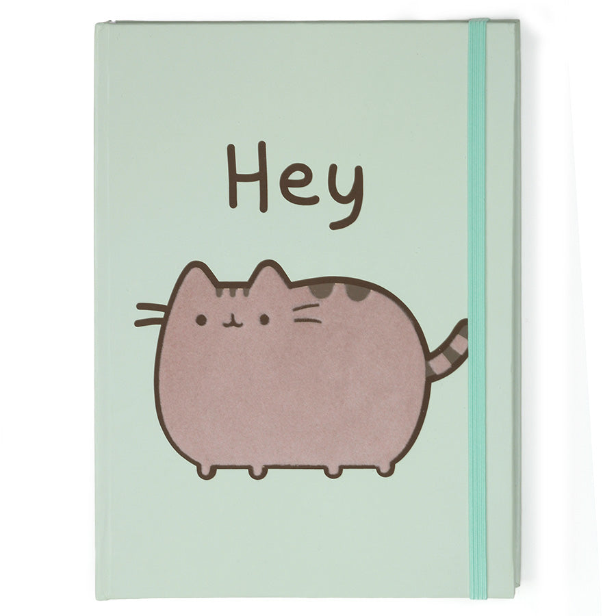 Hey Pusheen Journal