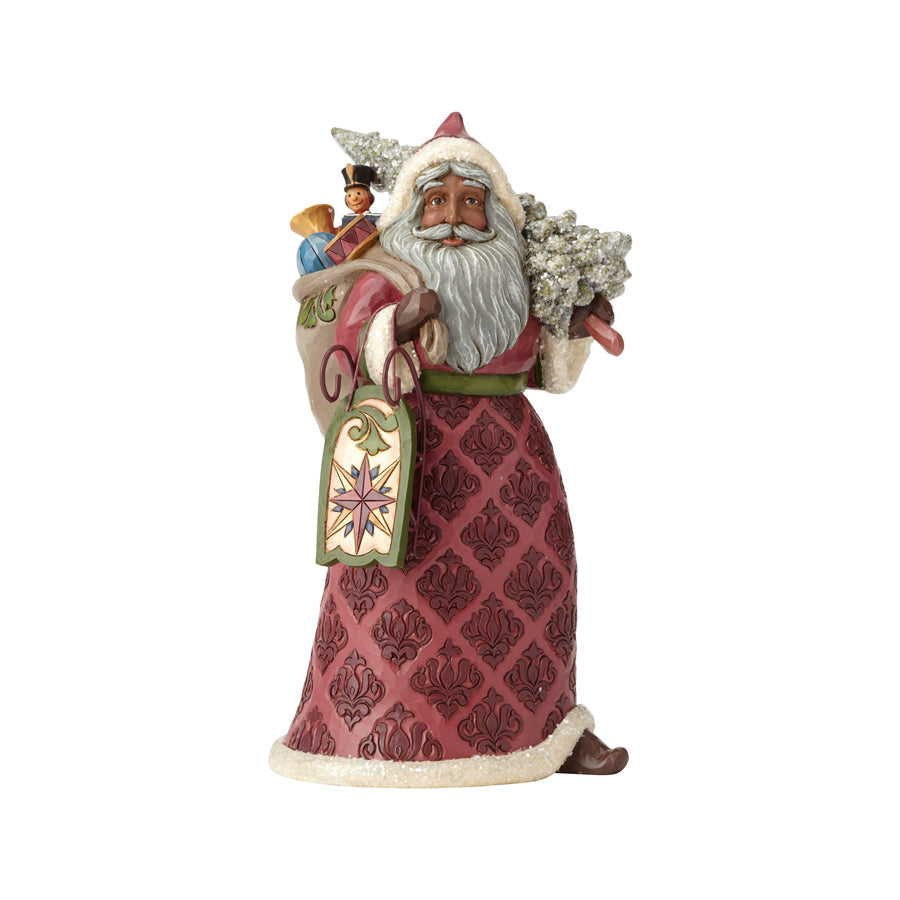 Victorian Santa with Toy Bag