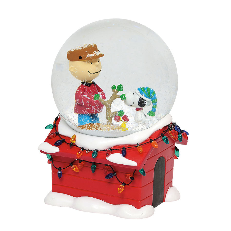 CB Christmas Musical Globe