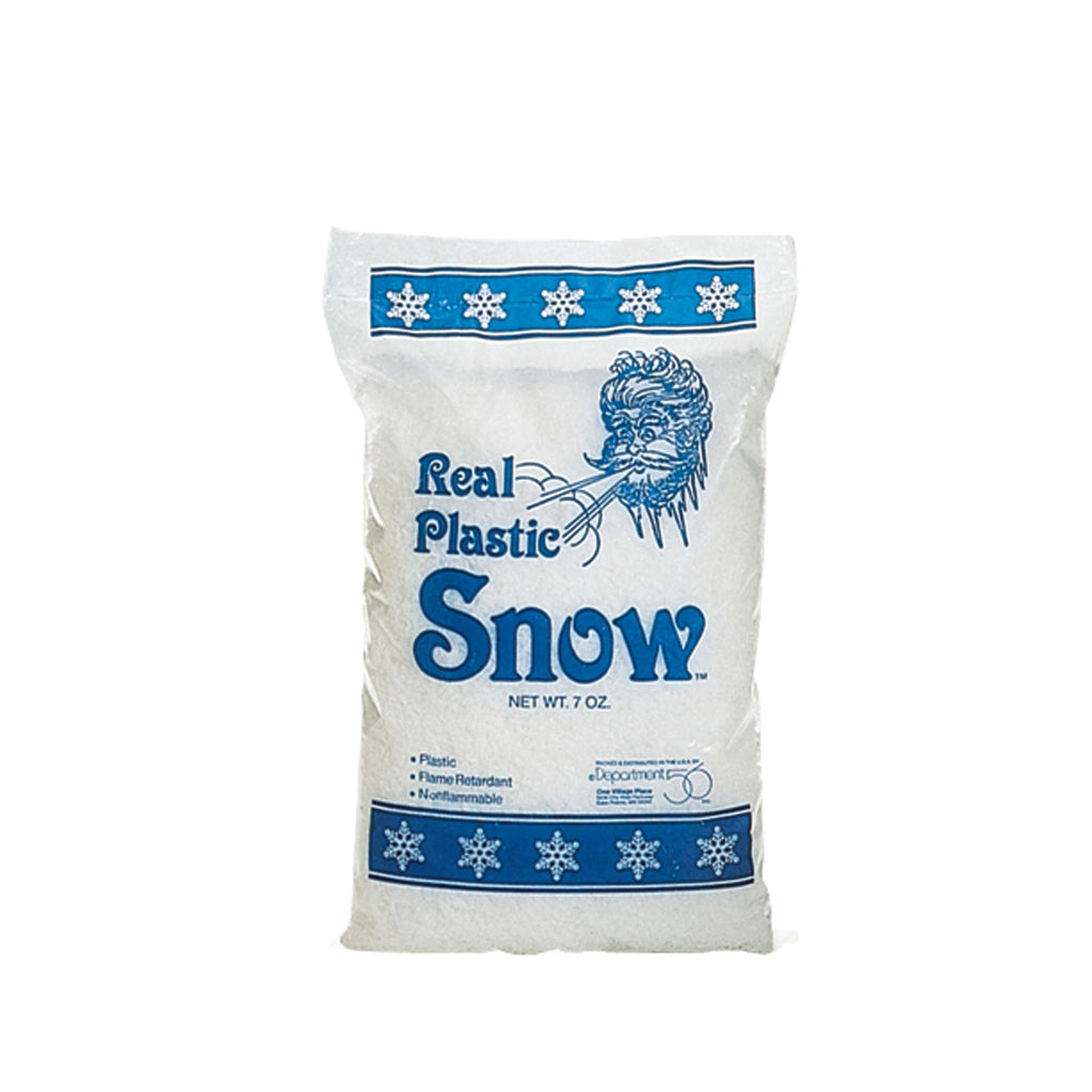 Real Plastic Snow