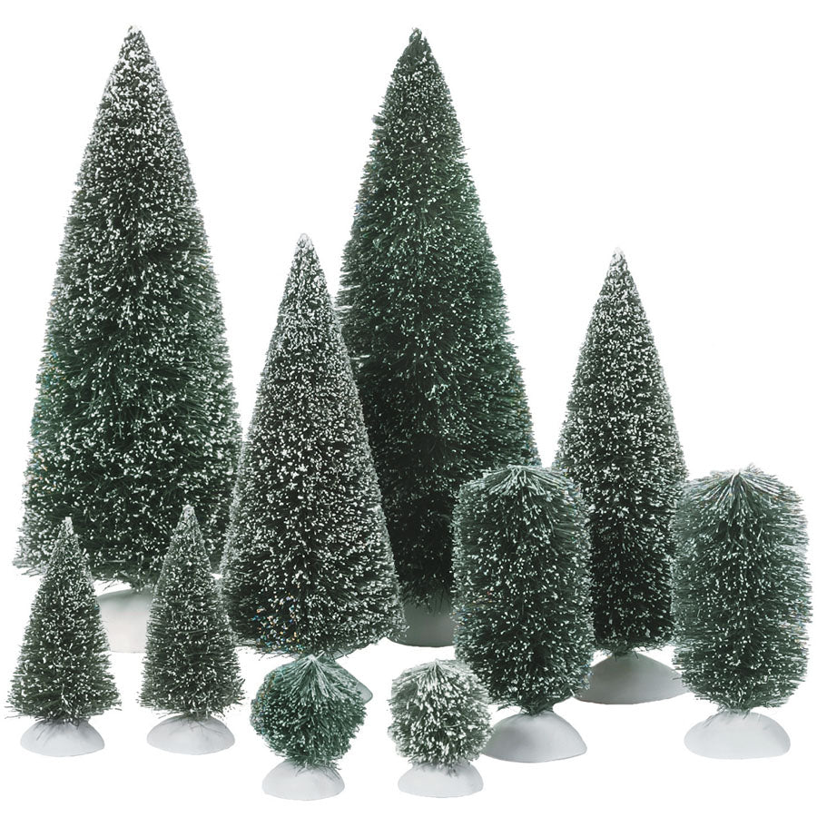Bag-O-Frosted Topiaries, Small