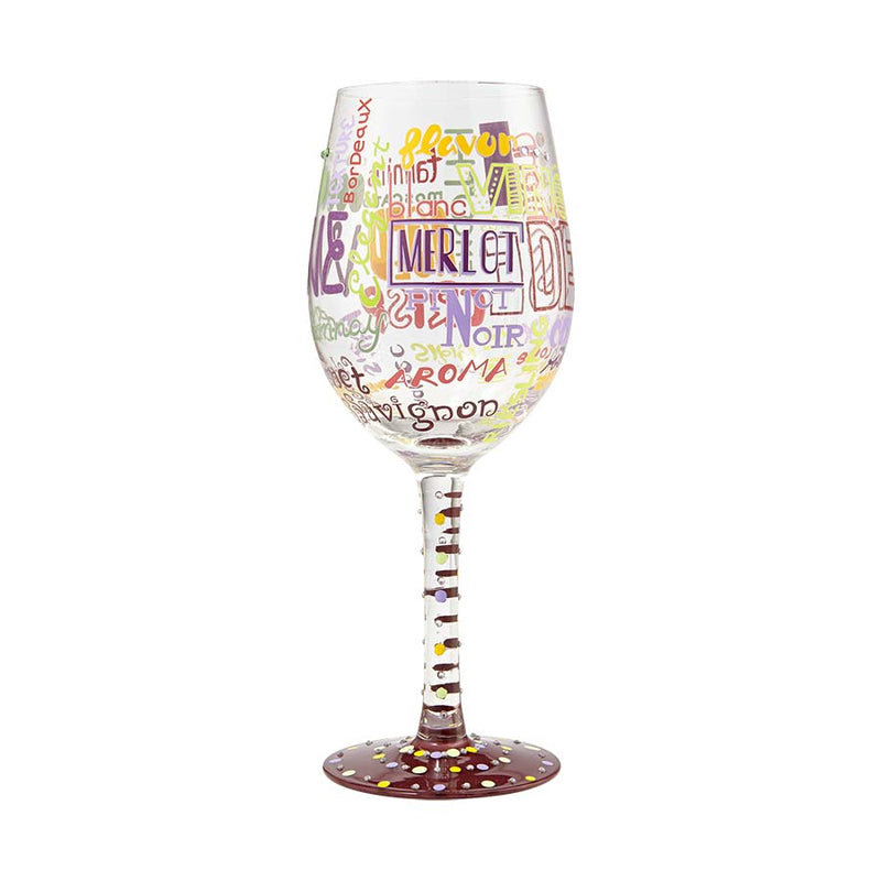 Wine Glass My Type of Wine