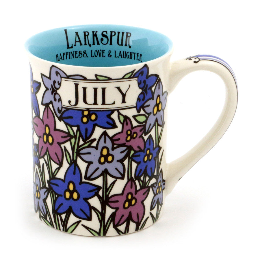 July Birthday Flower Mug - Lar