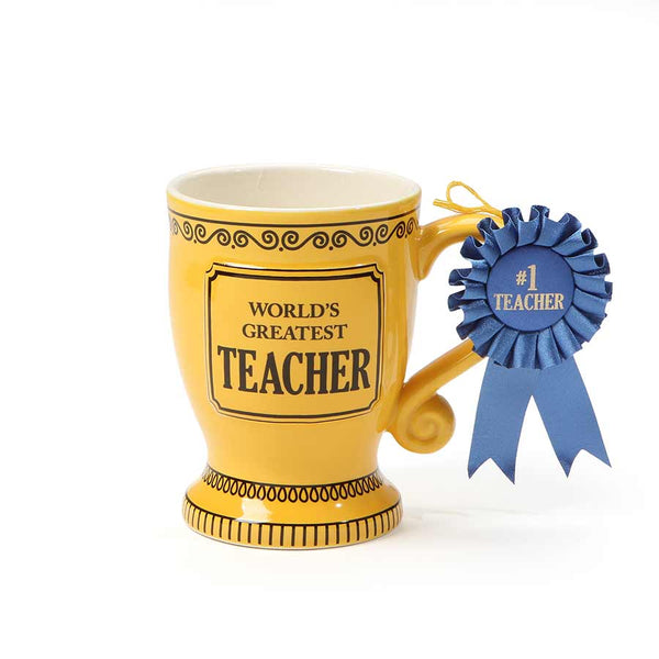 Greatest Teacher Trophy Mug